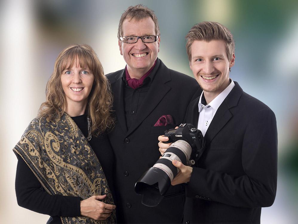 Familienfoto der Fotografen Eidens-Holl