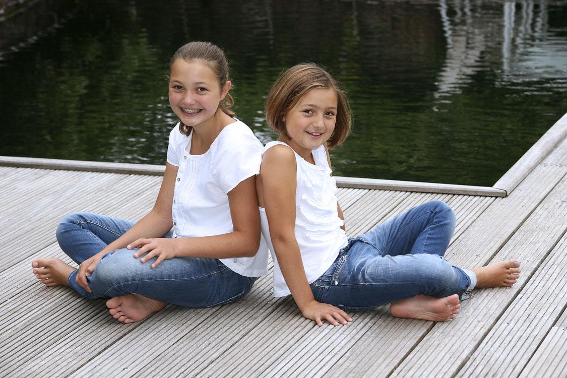 Portraitfotografie der beiden Schwestern